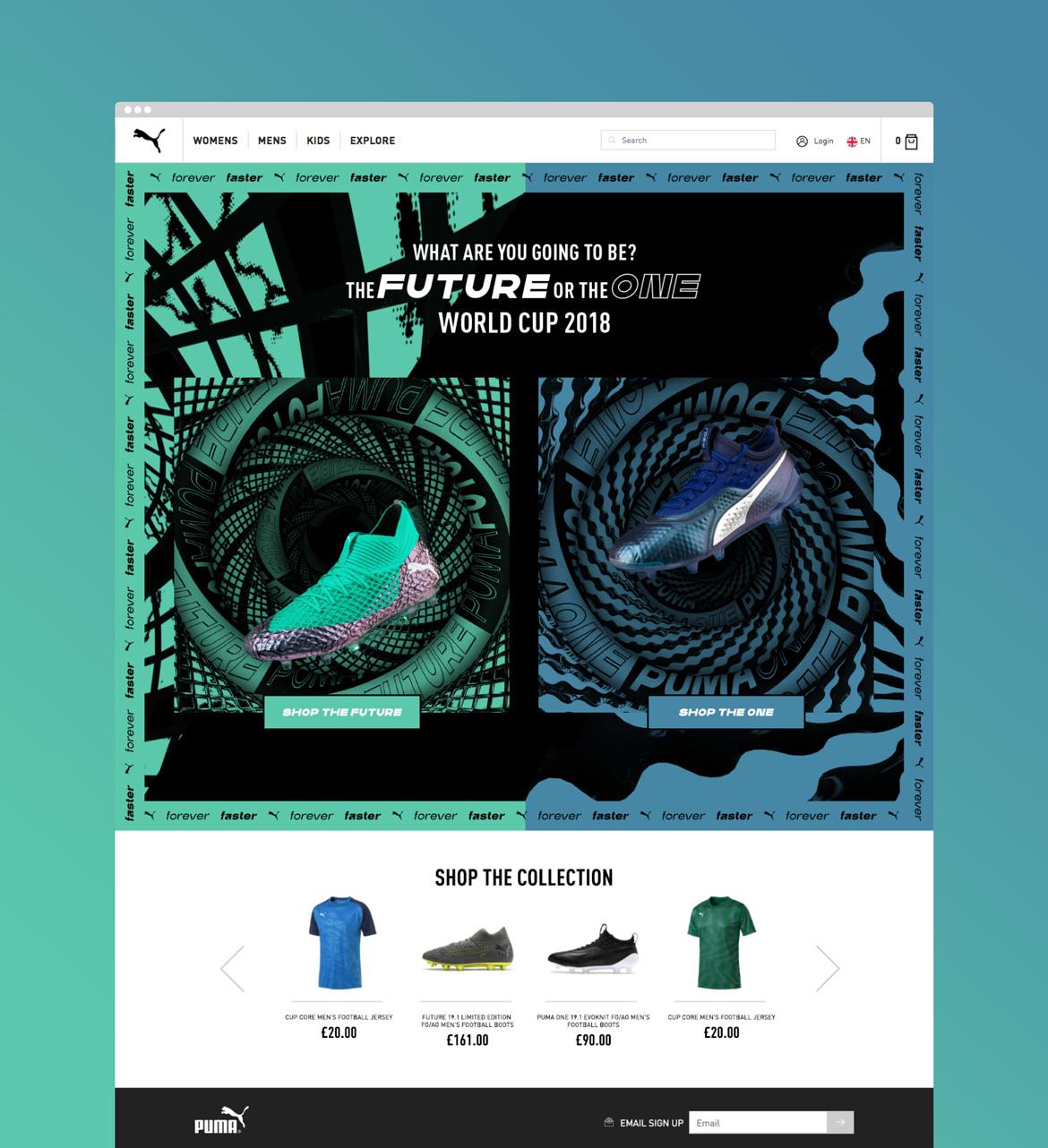 PUMA-Homepage